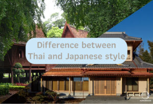 Difference between Thai and Japanese style
