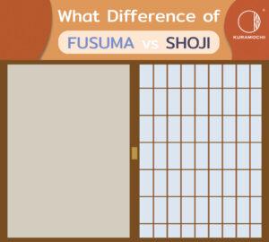 Fusuma vs Shoji